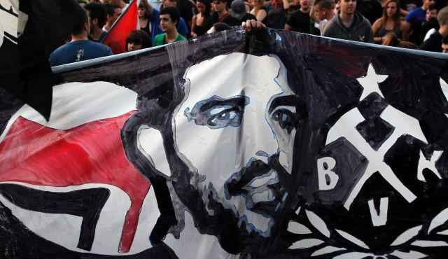 Pavlos-protest