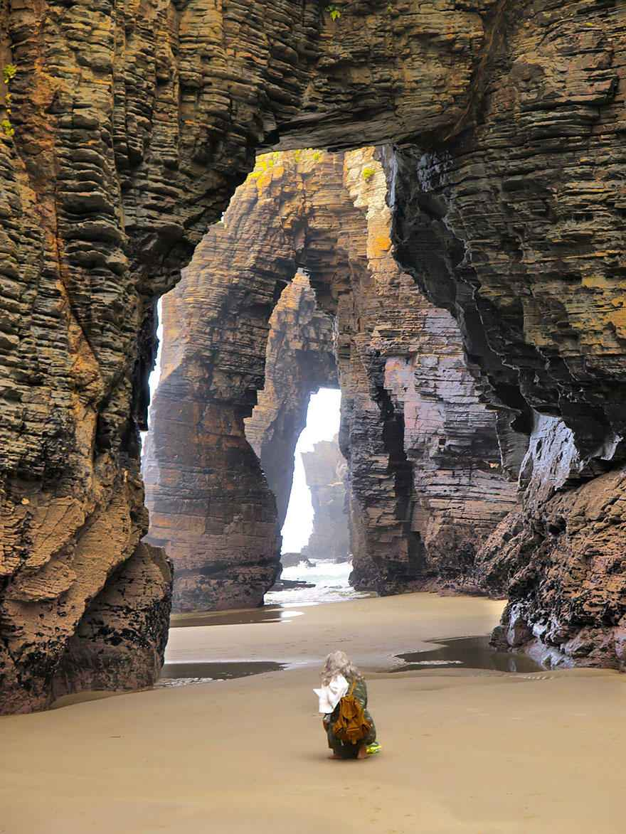 cathedrals, ribadeo spain