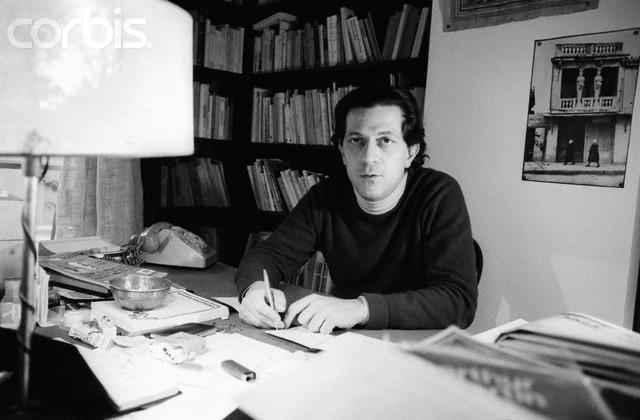 Writer Nikos Poulantzas at Home