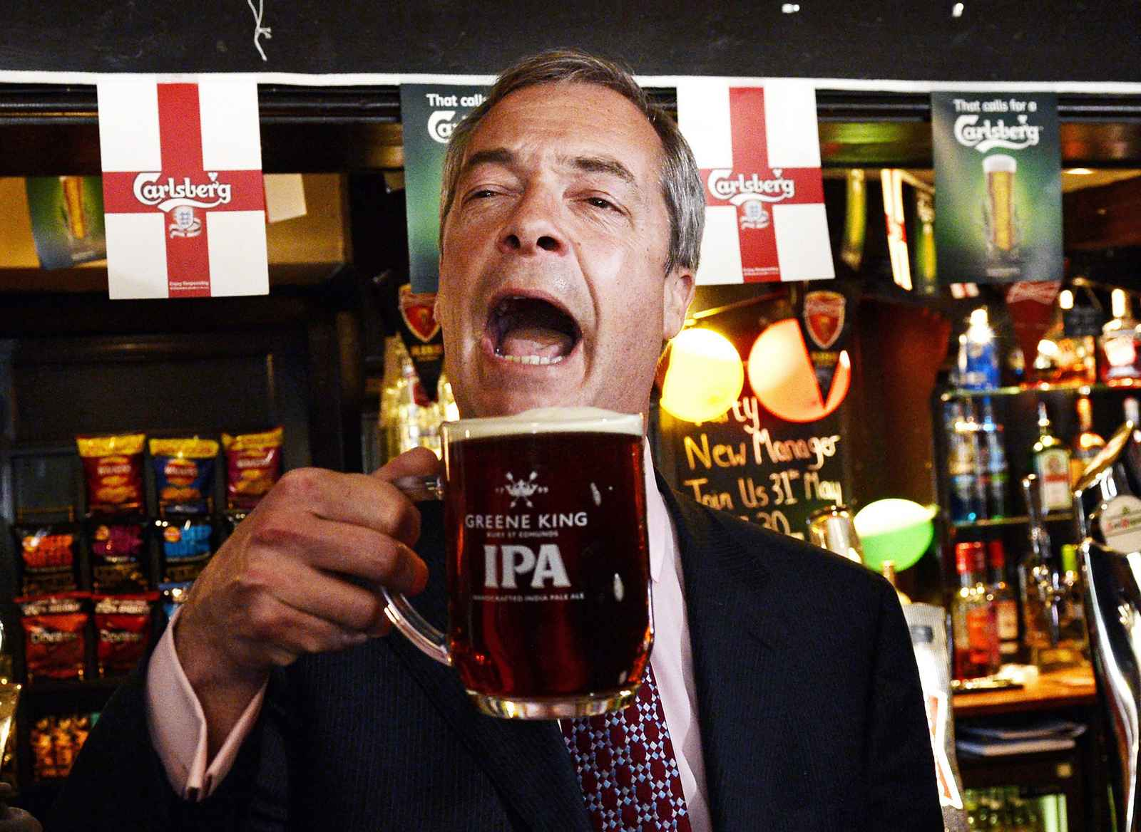 Farage celebrates gains in the local elections