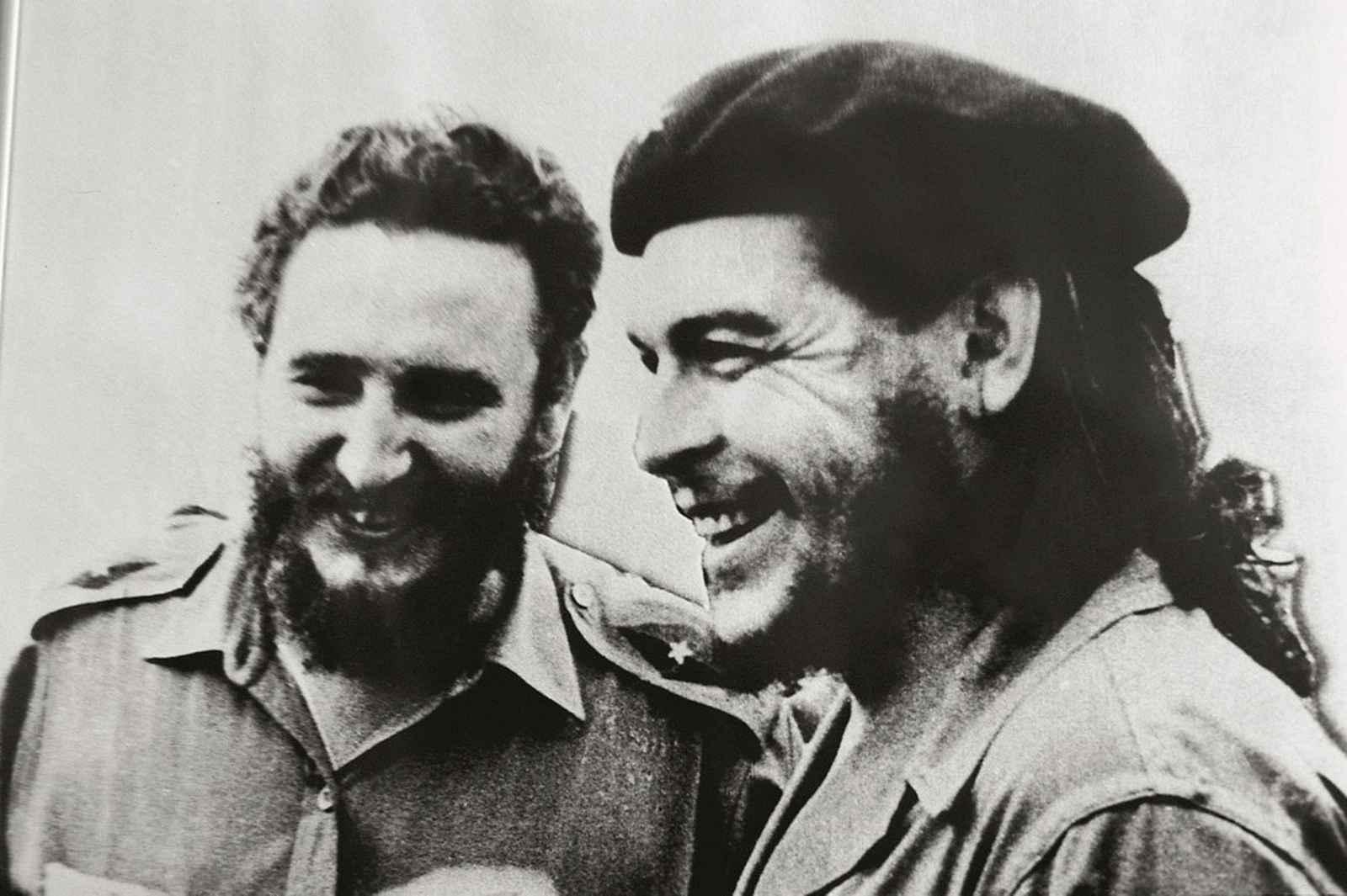 Ernesto Che Guevara and Fidel Castro