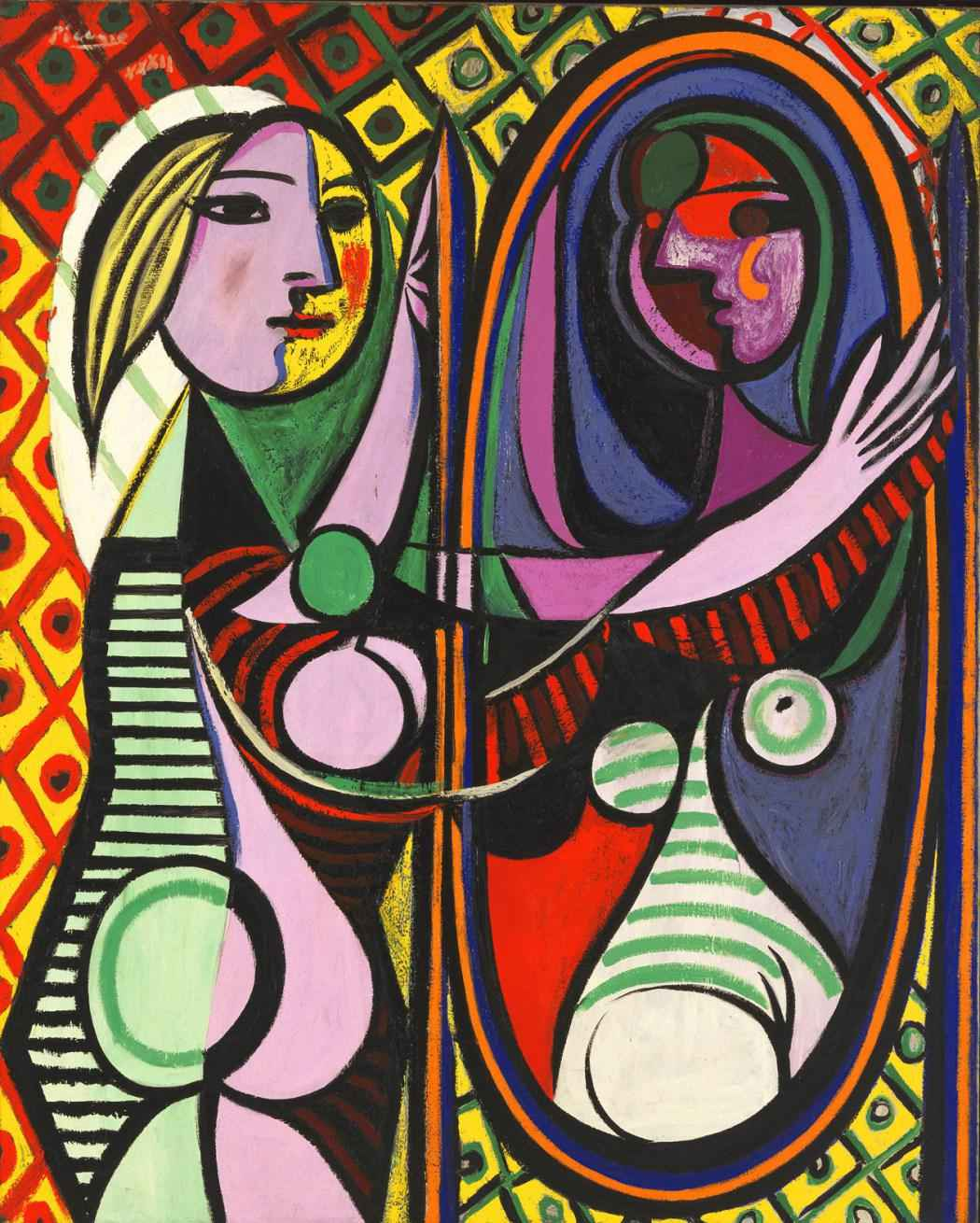 Pablo-Picasso-Girl-before-the-mirror