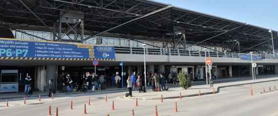 "This photo taken on 16 February, 2015 shows the International Airport of Thessaloniki ""Makedonia"". Greece intends to review a 1.2 billion euro ($1.36 billion) deal with German airport operator Fraport to run 14 Greek airports, with a government minister saying Saturday the contract would be put on ice. The airports, put up for lease in 2014 to boost Athens' depleted cash reserves, include Thessaloniki, the second largest city in the country, and those of tourist hotspots Corfu, Rhodes, Mykonos and Santorini. The new radical left government, which swept to power at the end of January and is currently embroiled in negotiations over its bailout obligations, had promised voters it would halt the privatisations. AFP PHOTO /Sakis Mitrolidis        (Photo credit should read SAKIS MITROLIDIS/AFP/Getty Images)"