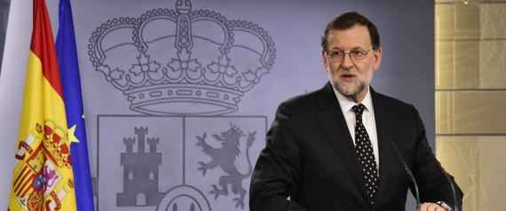 Leader of the ruling Popular Party (PP) and Spanish acting Prime Minister Mariano Rajoy speaks during a press conference at the La Moncloa Palace, following his meeting with Spain's King on January, 22, 2016. Spain's acting Prime Minister Mariano Rajoy today abandoned attempts to form a government, due to lack of support in parliament, a statement issued by the royal palace said.   AFP PHOTO / JAVIER SORIANO / AFP / JAVIER SORIANO        (Photo credit should read JAVIER SORIANO/AFP/Getty Images)