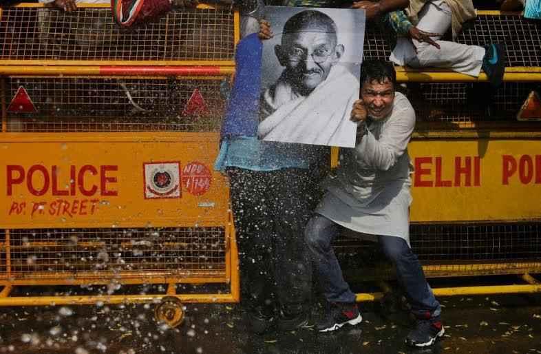 ghandi-protest