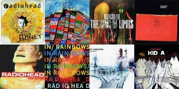 radiohead-albums